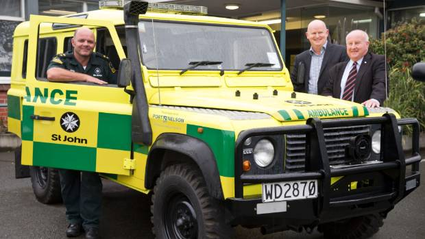 St John Unveils First New Look Ambulance Stuff Co Nz