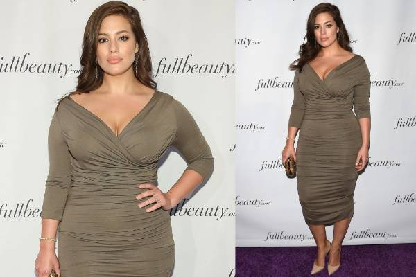 THE GOOD: Ashley Graham is so gorgeous and elegant that she'd make a Kardashian Kollection item look decent, and so ...