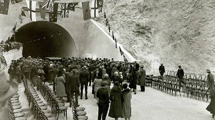 Wellington's Mt Victoria 'tooting tunnel' a tribute to
