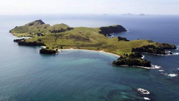 Slipper Island, off the Coromandel coast, is one of NZ's few privately owned islands