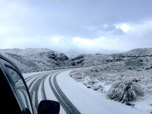 Winter has arrived early for Mt Ruapehu's ski fields.