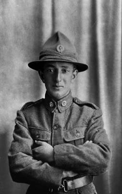 Norman Cummins was discharged from the army at his request in 1915, but re-enlisted. He died on the first day of the ...