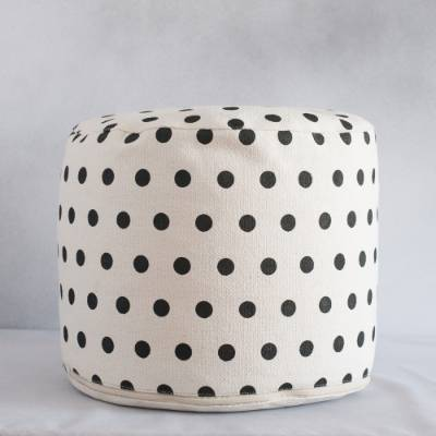 REDCURRENT POLKA DOT POUF, $78: Making her a cup of tea and encouraging her to put her feet up is one thing - but what ...