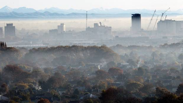 Christchurch is one of the areas worst affected by high levels of arsenic and lead created by burning construction ...