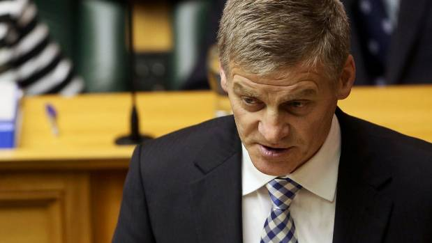 Finance Minister Bill English, who was at the centre of a furore in 2009 over an accommodation allowance