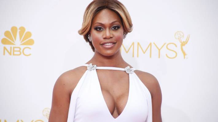 Laverne Cox poses naked for the best possible reason