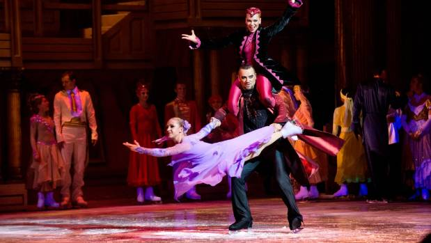 Sleeping Beauty on Ice features many gold-medal winning ice skaters.