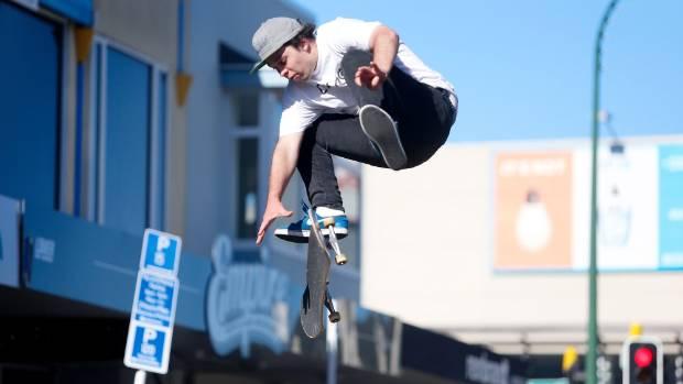 Skate Jam Winner Flips Over Car To Win It Stuff Co Nz