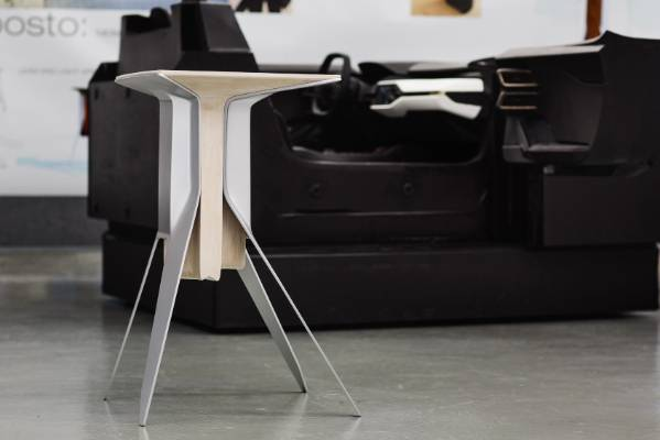 Ford Gt Inspired Furniture In Milan Spotlight