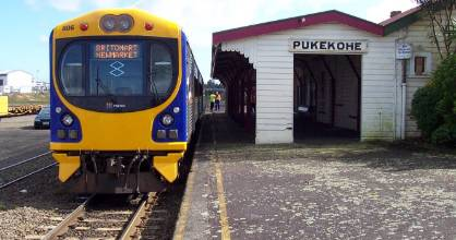 Emergency services attended the leak at Pukekohe Station.