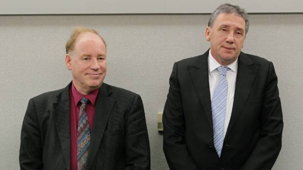 David  Rowley, left, and Barrie Skinner were jailed in August 2012 after being found guilty of dozens of charges of ...