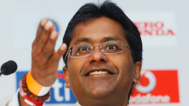 """IPL founder Lalit Modi, an outspoken critic of the ICC, tweeted: """"about time this happened""""."""