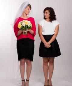 Siobhan Marshall and Amanda Billing star in Find me a Maori Bride.