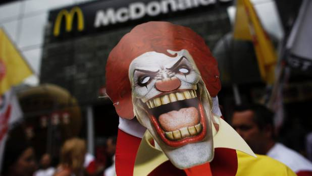 McDonalds is also facing actions over working conditions in Brazil and the United States.
