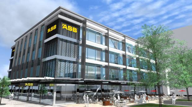 Cancelled plan for ASB headquarters on the former ANZ site.
