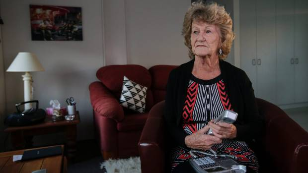 Bea Cardno is 76 and legally blind, but has to pay extra for ultrafast broadband in her new council flat.
