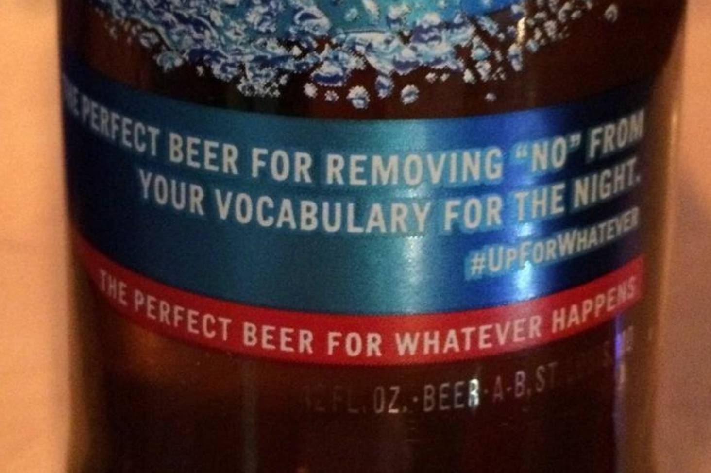 Budweiser Apologises For Offensive' Slogan