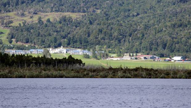 Gloriavale Christian Community, across from Lake Haupiri, on the West Coast.