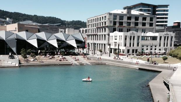 Wellington's waterfront, including outdoor areas at bars and restaurants like the Wharewaka and St John's, could soon be ...