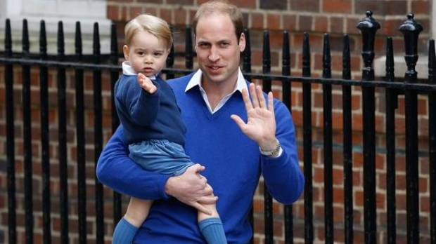 Cheeky monkey Prince George is now 4!