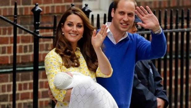 Royal baby: The first glimpse of Kate and Prince William's ...