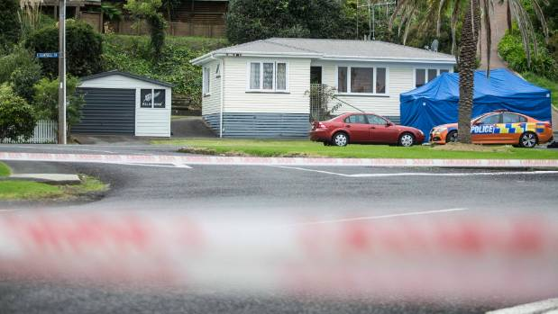 Police were called to the house of Vaughan Te Moananui sister's house in Thames on May 2, 2015.