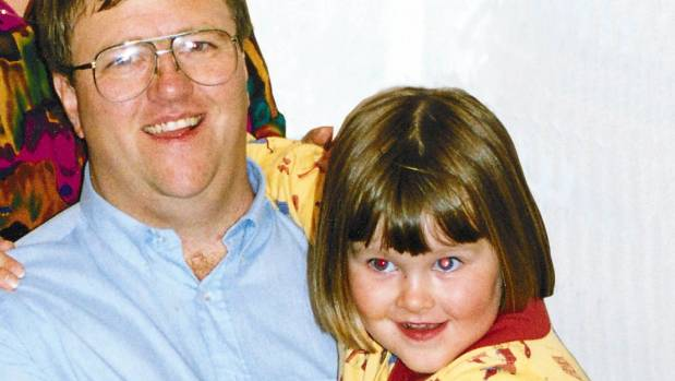 Lundy with Amber, who was 7 when she was killed.