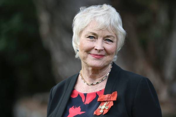 Ms Lisa Harrow received the insignia of an officer of the New Zealand order of merit for services to the dramatic arts ...