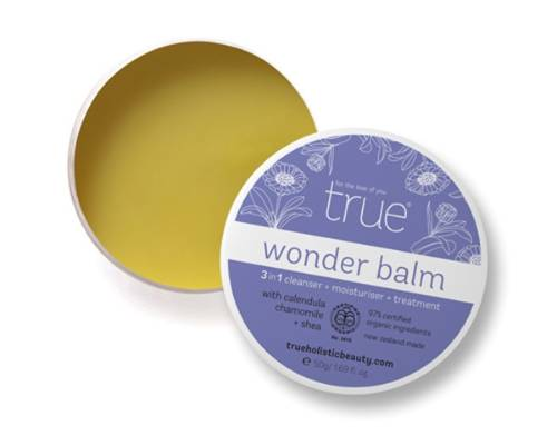 TRUE ORGANIC WONDER BALM, $42: Mum looks after you and this will look after her skin. This three-in-one moisturiser, ...