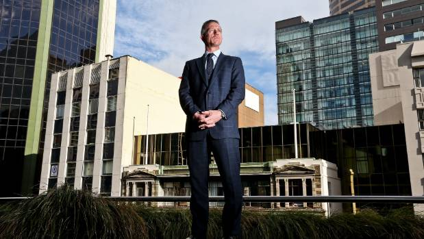 BNZ chief executive Anthony Healy is very pleased with the bank's half-billion dollar haul.
