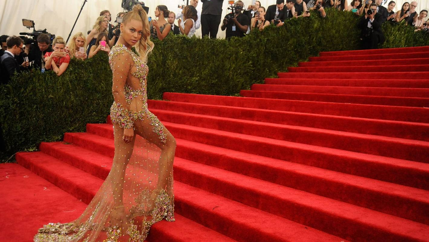 The rise of the celebrity 'naked dress'