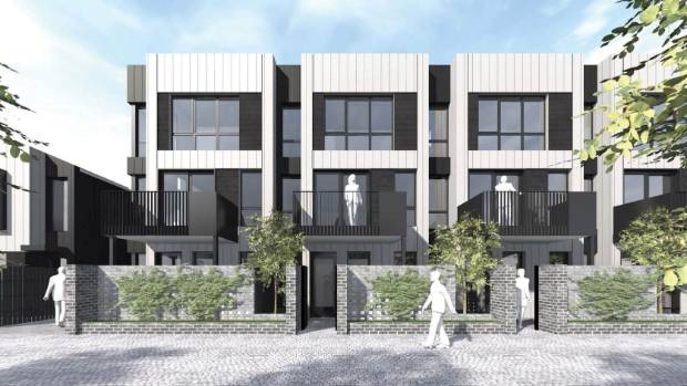 Fletchers to build 191 inner city homes for christchurch for Apartment design nz