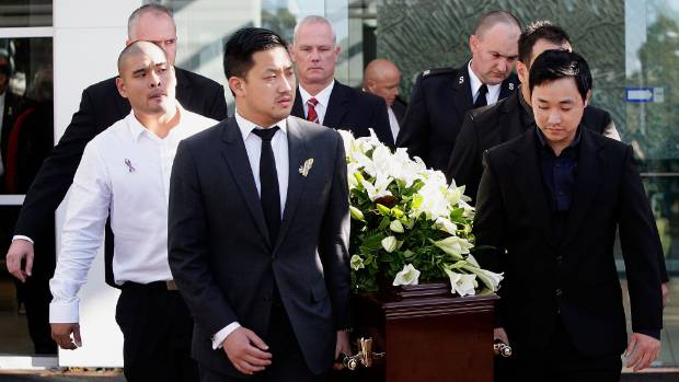 Bali 9 andrew chan farewelled at sydney funeral stuff michael chan left is seen among the pall bearers during the funeral service solutioingenieria Choice Image