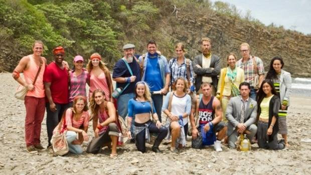Contestants from the 30th season of Survivor, which recently aired on TV3.