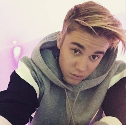 Justin Bieber, 21, usually aims for a 'hey girl' selfie, but often just ends up just looking miffed (oh dear, we've just ...