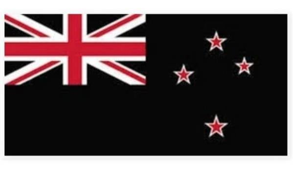 Haki Pango by Sam Hey of Bay of Plenty (the current flag but on a black background to make us different from Australia).