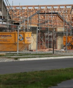 As more subdivisions have come on stream in Christchurch, the surge in house prices appears to have at least slowed.