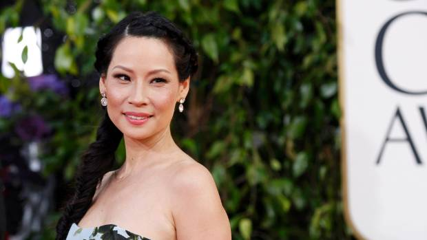 Lucy Liu at the 70th annual Golden Globe Awards.