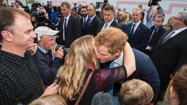 "Prince Harry's former matron Vicki McBratney reunites with her ""favourite student"", 18 years after she last saw him."