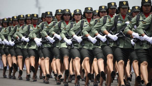 Indonesian Military Conducts Two-Finger Virginity Tests -3286