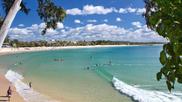 Noosa Main Beach is a sun-lover's haven.