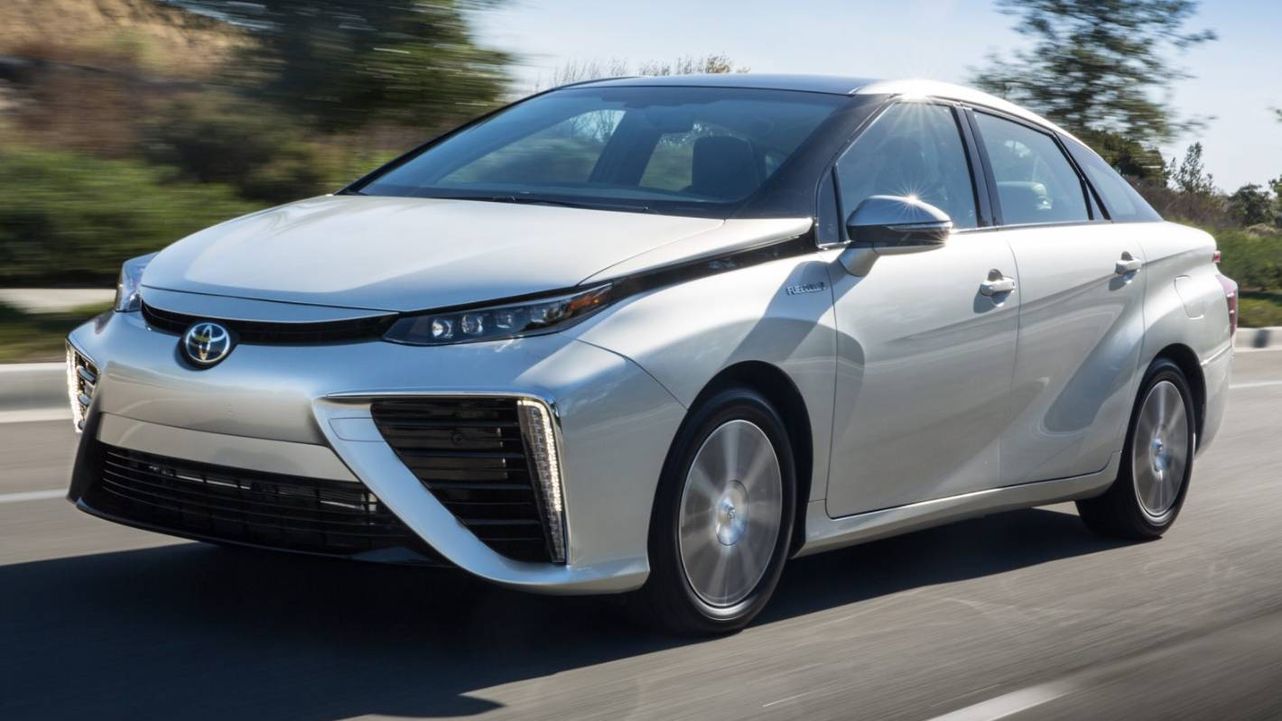 How To Make Your Car Faster >> Why Toyota wants to make your next car run on hydrogen ...