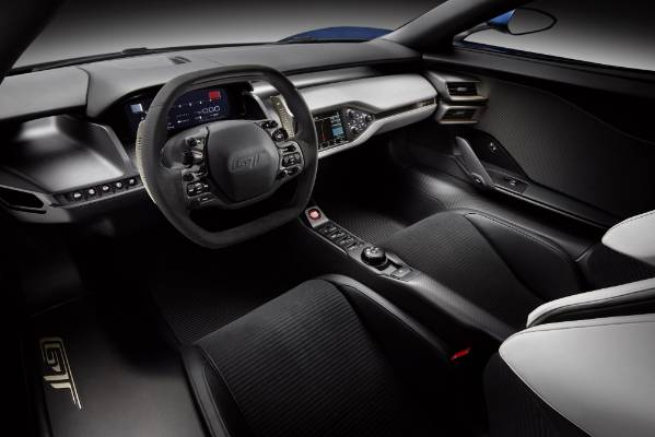 Inside The New Ford Gt Supercar
