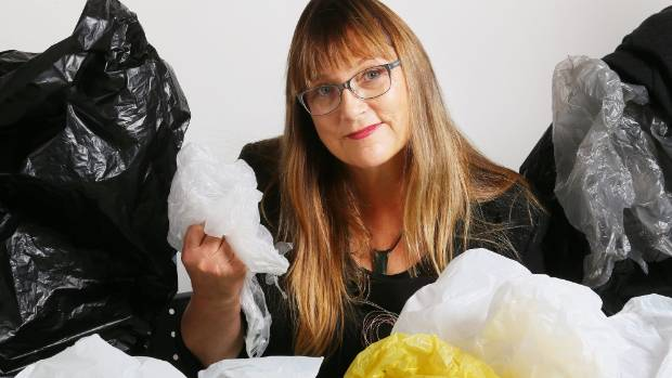 Green Party MP and waste spokesperson Denise Roche is leading a revolt against plastic bags.