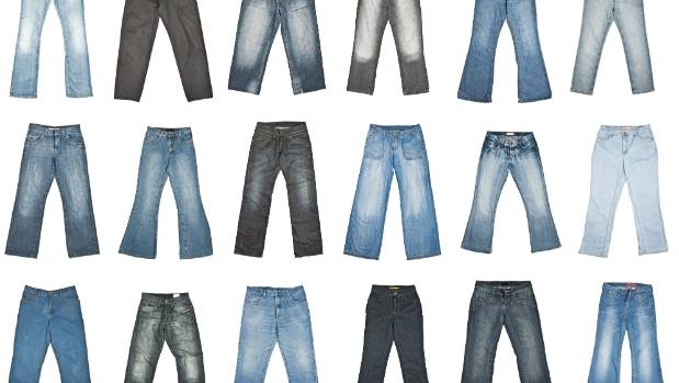 Research showed many women reached for their jeans when they felt a bit blue.