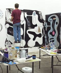 Mark Braunias' installation Anti Groovy is on show at Jonathan Smart Gallery.
