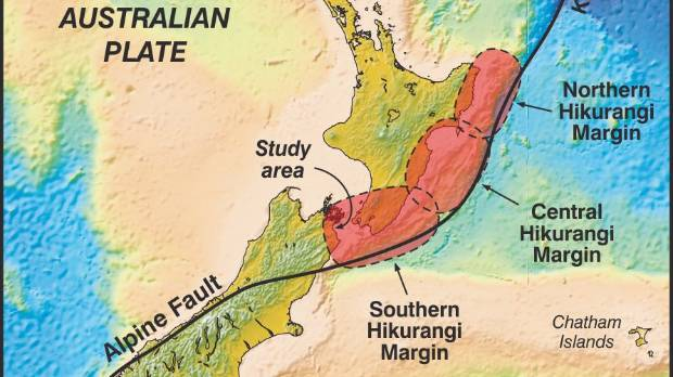 Megaquake could hit central New Zealand  Stuffconz