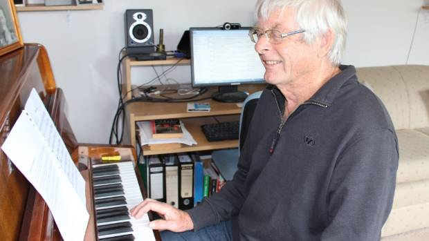 Port Waikato's Andrew DuFresne has just graduated with a Bachelor of Music from the University of Auckland, at the age of 73.