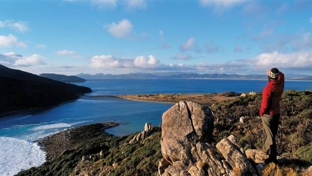 Hiking the Rakiura Track: The national park makes up about 85 per cent of Stewart Island.