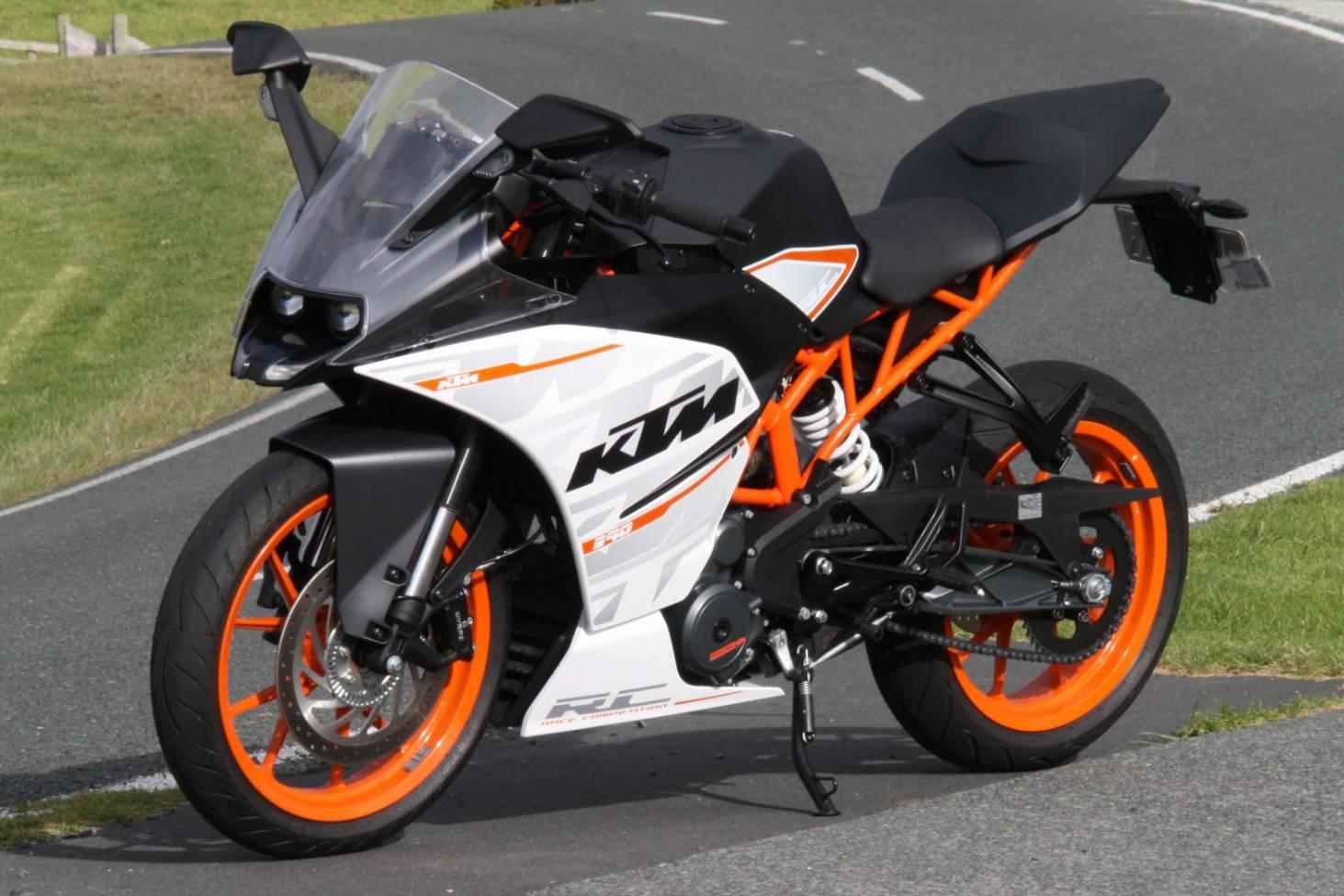 Ktm Rc390 Is A Commuter Bike That Thinks It S A Racer Stuff Co Nz